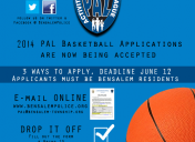 PAL SUMMER BASKETBALL APPLICATIONS NOW AVAILABLE