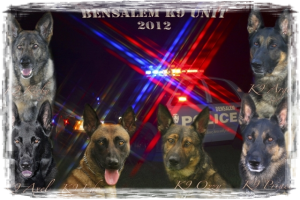 Bensalem K9 unit hosts Certification
