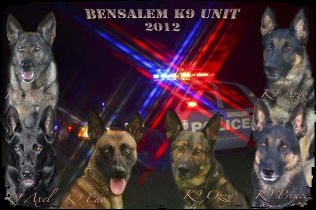 Bensalem K9 unit hosts Certification